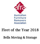 AFRA Fleet of the Year Award Winner in 2018 Australia